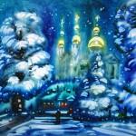 Витебск. Зимняя сказка